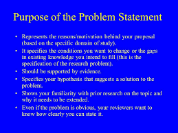 Notes on Research Proposals  Components of the Research Proposal     SlidePlayer Guidelines for writing a good abstract problem statement All should have the following elements in