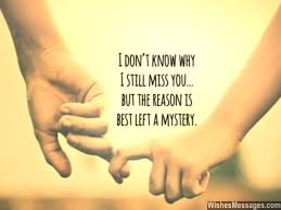 I Miss You Messages for Ex-Boyfriend: Missing You Quotes for Him ...