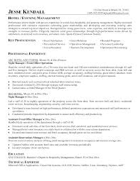 cover letter for hotel and restaurant management graduate cover letter cv hotel sample work resume