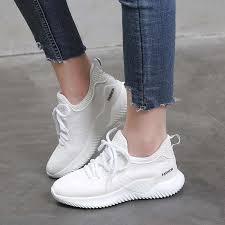 <b>VTOTA Platform</b> Sneakers <b>Women</b> Fashion Mesh <b>Wedges</b> Walking ...