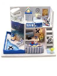 <b>Сборная модель</b> Mini House Морской бриз <b>DIY house</b> 13657671 в ...