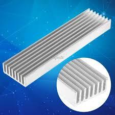 <b>Extruded Aluminum Heatsink For</b> High Power LED IC Chip Cooler ...