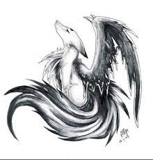 """Résultat de recherche d'images pour """"manga ange noir et blanc"""""""
