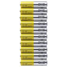 АЛКАЛИСК <b>Батарейка</b> щелочная, LR03 <b>AAA</b> 1,5В - IKEA