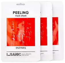 L'Sanic <b>тканевая маска</b> Enzymes Peeling Mask Sheet ...