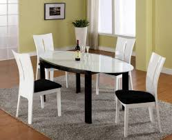 painting dining room table design excellent dining room luxury oval white dining table design with distinctive din
