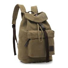 Travel <b>Military Men Rucksack</b> Canvas Satchel Laptop <b>Backpack</b> ...