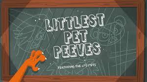 littlest pet peeves littlest pet shop tv series wiki littlest pet peeves