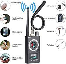 <b>Anti Spy Hidden Camera</b> Detector, RF Detector Wireless: Amazon ...