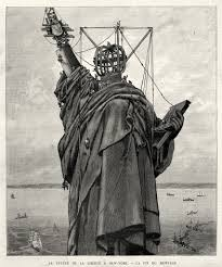 "how visual propaganda helped build the statue of liberty henri thiriat ""la statue de la liberté à new york la fin du montage"" 1886 image courtesy musee bartholdi colmar christian kempf"