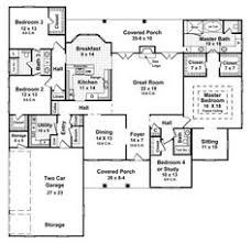 images about Home Sweet Home  Floor Plans on Pinterest    One Story House Plans  HDGCOM      Beds   Baths