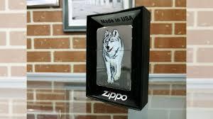 <b>Зажигалка Zippo</b> Classic Wolf (Волк) Black Ice 769 купить в Уфе ...