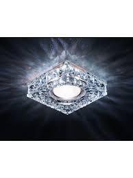<b>Точечный светильник</b> S251 CH хром/прозрачный хрусталь/MR16 ...