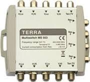 Мультисвитчинги Terra 5-ти кабельной системы