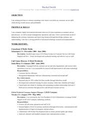 Resume. objective examples for resume ~ Decos.us Resume Examples ...