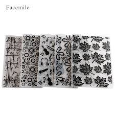 <b>Facemile 1PCS</b> Plastic Embossing Folder For Scrapbook Template ...
