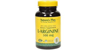 <b>L</b>-<b>Arginine 500</b> mg, 90 veg. <b>capsules</b> - Nature's Plus - VitalAbo ...