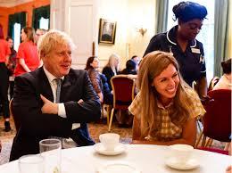 Борис Джонсон и Кэрри Симондс впервые вышли в свет вместе ...