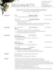 Example Resume  Fashion Resume Template  nice fashion resume     Binuatan     Example Resume  Fashion Resume Template With Education And Experience Foe Enterpreneur Or Sewer  Fashion