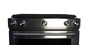 Gas Stainless Steel Cooktop Kitchenaid 30 Stainless Slide In Gas Range Ksgb900ess