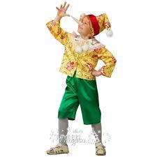 <b>Карнавальный костюм Буратино</b> сказочный, рост 110 см (<b>Батик</b>)