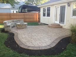 ideas for concrete patio decorative concrete patio border ideas decorative concrete patio borde
