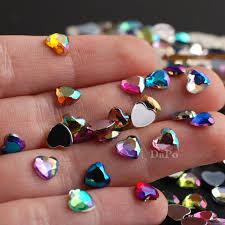 6 мм в <b>форме</b> сердца Стразы 13 AB Цвет Кристалл <b>Nail art</b> ...