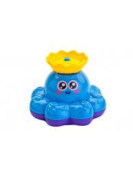 """<b>Игрушка</b> Для Ванны """"<b>Фонтан</b>-<b>Осьминожка</b>"""" Голубой <b>BRADEX</b> ..."""