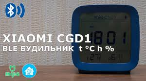 <b>Xiaomi ClearGrass</b> CGD1 - Bluetooth часы, будильник, <b>датчик</b> ...