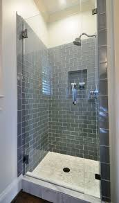 ideas shower systems pinterest: wwwcarolinawhole has more flooring and design ideas or check out our facebook shower tile bathroom different styles split by a chair rail