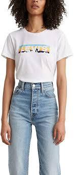<b>Levi's</b> Women's <b>Perfect Tee</b>-Shirt (Standard and Plus) at Amazon ...