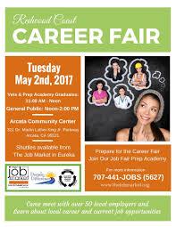 the job market redwood coast career fair arcata community center tuesday 2nd 2017 12 00 2 00pm