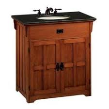 arts crafts bathroom vanity: i like the solid doors rather than a previous pin with the see through doors no one wants to see under your bathroom sink