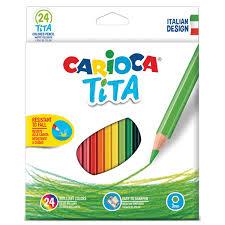 """Купить <b>Карандаши цветные CARIOCA</b> """"<b>Tita</b>"""", 24 цвета ..."""