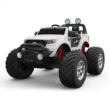 <b>Электромобиль Dake Ford</b> Ranger Monster Truck DK-MT550 белый