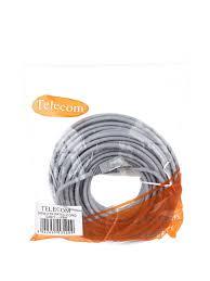 Купить <b>кабель</b> RJ-45 20 м, <b>Telecom</b> Патчкорд литой <b>FTP</b> кат.5е ...
