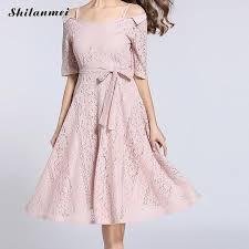 2017 New Summer <b>Women</b> Princess Dress European Style Pink ...