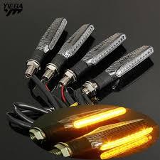 <b>Motorcycle 12V LED Turn</b> Signal Indicators Lights FOR YAMAHA ...