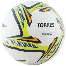 Купить <b>Футбольный мяч TORRES Training</b> белый/зеленый/серый ...