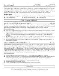 resume for event planner   event planner resume sample  event    event planner resume sample