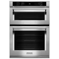 stainless steel sink racks ampquot whitehaven: kitchenaid quot single electric convection wall oven with built in microwave stainless