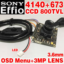 "HD <b>1</b>/<b>3""Sony CCD Effio 4140</b>+<b>673</b> Simple hd camera chip module ..."