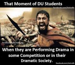 That moment of du students | Trolldekho.com | Funniest Meme ... via Relatably.com