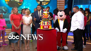 <b>Mickey Mouse Birthday Celebration</b> Live in Times Square - YouTube