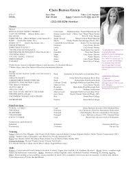 beginner acting resume sample  seangarrette cobeginner acting resume sample