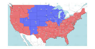 Chicago Bears at Denver Broncos: TV broadcast map for Week 2 ...