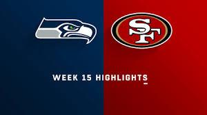Seahawks vs. 49ers highlights   Week 15 - NFL Videos