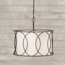 brayden studio tadwick 3 light drum pendant chandeliers pendants wayfair drum lighting