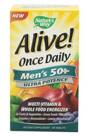 <b>Alive</b> Once <b>Daily</b> Men's 50+ – ProHealth