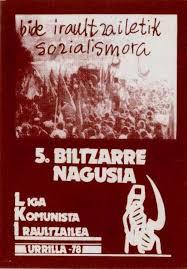 Resultado de imagen de Liga Komunista Iraultzailea